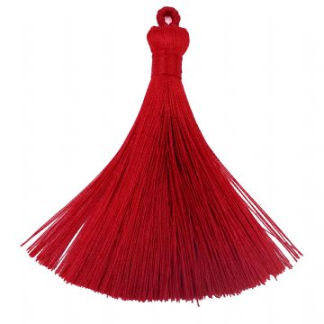 Large Red Tassel